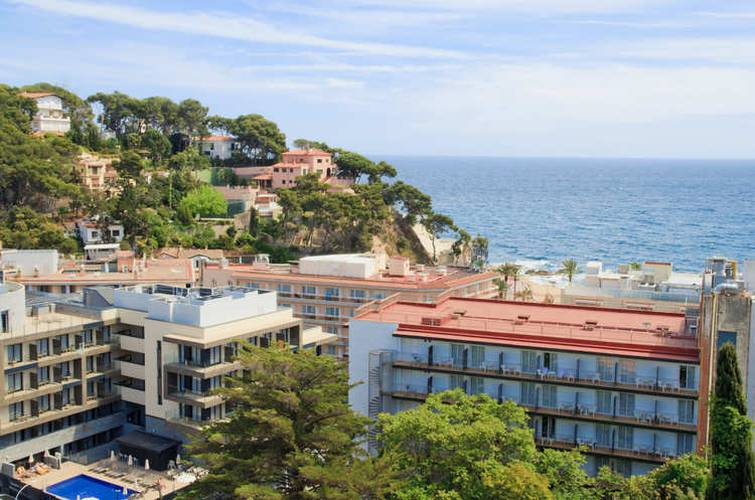 Panoramic view ALEGRIA Sun Village  Lloret de mar