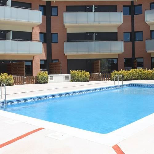 Swimming pool santa susanna chic apartments